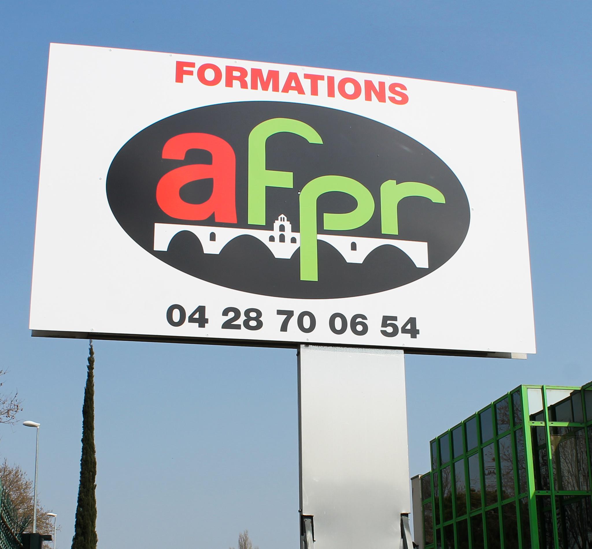 L'enseigne AFPR