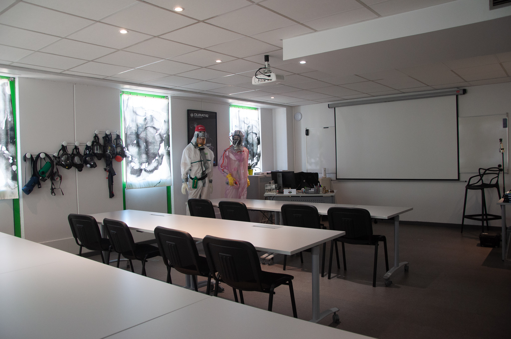 La grande salle de formation AFPR